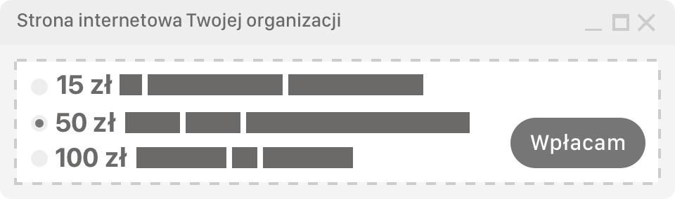 Podgląd widget-u na Twojej stronie
